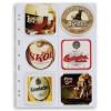 Albums alus paliktņu kolekcionēšanai, ar 15 caurspīdīgām lapām, 342618