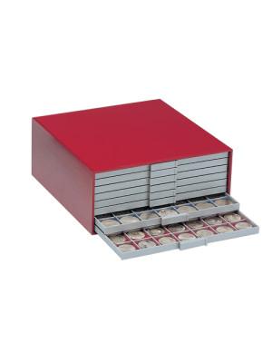 Monētu kaste BEBA Mini sarkana, 6200