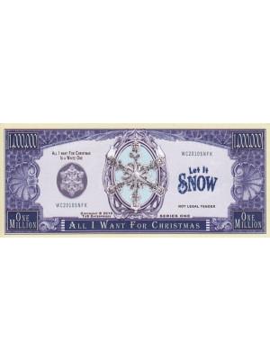 "Piemiņas dolāra banknote ""All I Want For Christmas"""