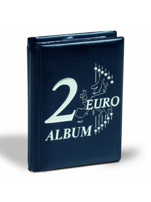 Coin wallet with 12 coin sheets for Euro coin sets, 330102