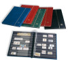 Stock Book LSP4/16R, 32 black pages, red, 339253