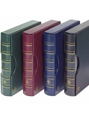GRANDE Classic binder incl. slipcase, red, 300787