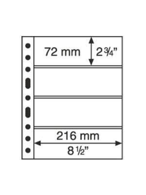 GRANDE sheet 4S, black, 312682