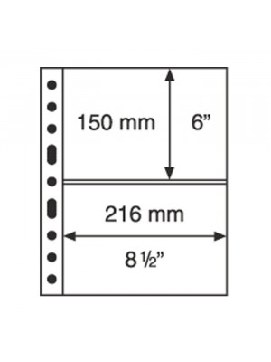 GRANDE sheet 2C, clear, 336439