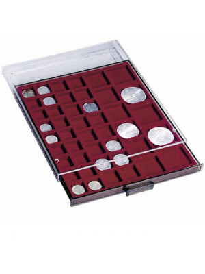 Coin box with 45 compartments, with varying Ø, 316902