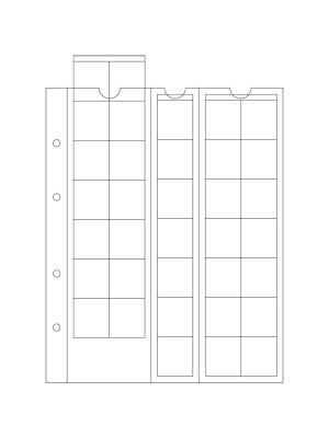 OPTIMA coin sheets M35, 306013