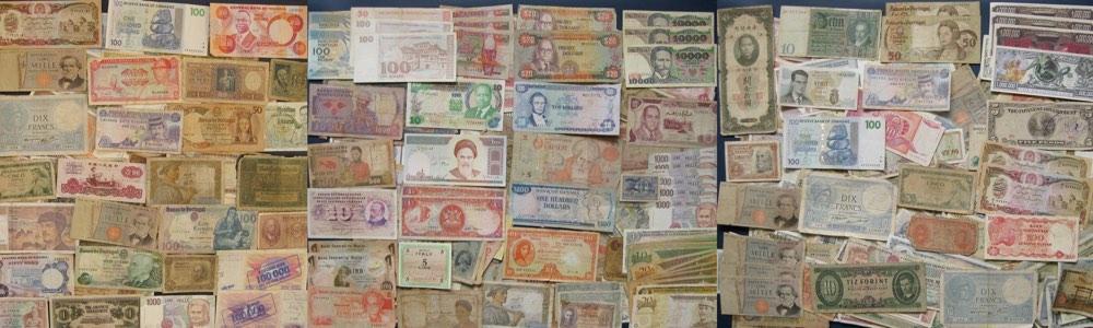 Banknošu kolekcionēšanai angliski