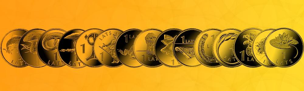 Jubilejas lata monētas angliski