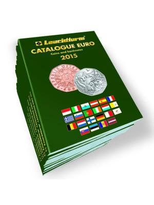 Katalogs Eiro monētas un banknotes 2015
