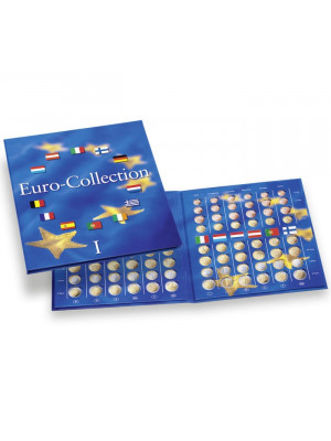 Eiro monētu albums Euro-Collection 1