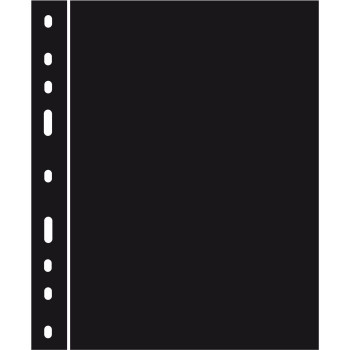 Melnas starplapas OPTIMA ZWL, 335313