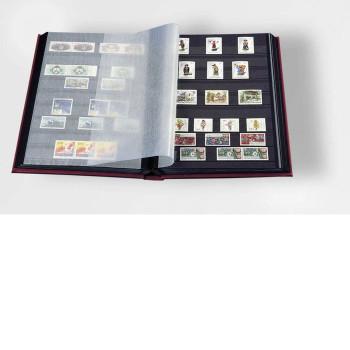 Pastmarku albums DIN A4 LS4/8R, sarkans, 317377