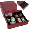 Eleganta Koka kaste kolekcionēšanai, 6880