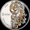 "Sudraba monēta ""Kurzemes baroks"" 5 Eiro"