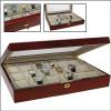 Koka kaste pulksteņu kolekcionēšanai 261