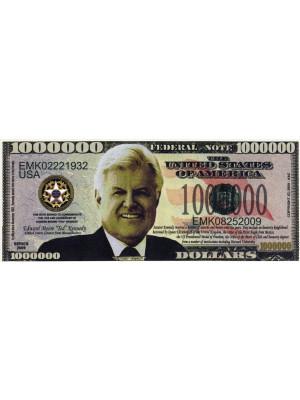 """Miljons dolāru banknote """"Teds Kenedijs"""""""
