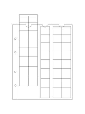 Lapa OPTIMA M40 (Eiro monētu komplektiem), 308740 (Monētu aksesuāri)