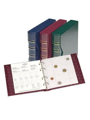 Albums NUMIS Classic sarkans, ar 5 lapām, 327836