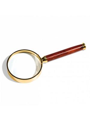 Apzeltīts palielināmais stikls ar rokturi, 305535