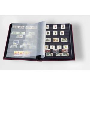 Pastmarku albums DIN A4 LS4/16S, melns, 332685