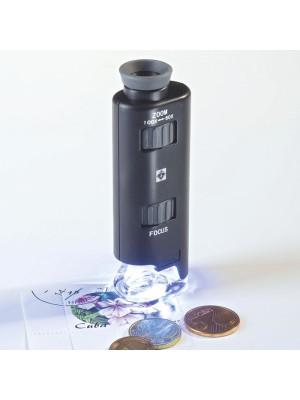 Mikroskops ar LED un palielinājumu no 60 līdz 100x 313090
