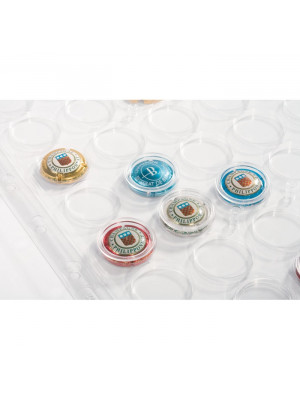 ENCAP Clear Pockets for champagne bottle tops and bottlecaps, 308075