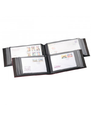 Green album for 100 FDCs or letters, 330709
