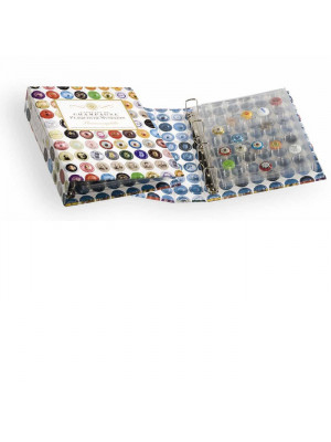 Album for champagne bottle tops GRANDE, incl. 4 transparent sheets, 324238