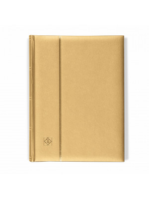 Gold Stock Book with padded cover, 358058