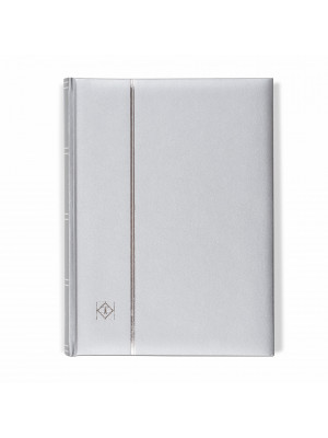 Silver Stock Book with padded cover, 358059