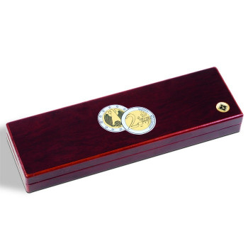 Small coin box VOLTERRA, for 5x2 Euro coins in capsules, 346570