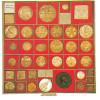 Dividing squares 23.3mm, 6161