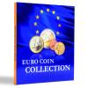 PRESSO Euro Coin Collection coin album, for 26 complete euro coin sets