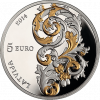 "Silver coin ""Baroque of Courland"", 5 euro"