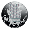 "Silver Fairy Tale Coin III. ""The Old Man's Mitten"""
