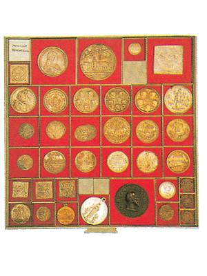 Dividing squares 46.6mm, 6163