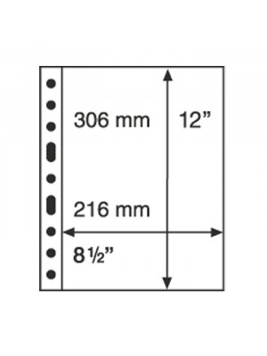 GRANDE sheet 1C, clear, 321709
