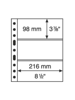 GRANDE sheet 3C, clear, 308439