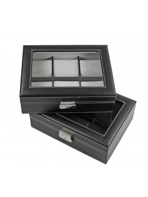 Elegant wooden watch case, SAFE 217-2