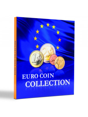 PRESSO Euro Coin Collection coin album for 26 complete euro coin sets, 346511