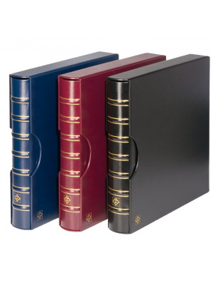 MAXIMUM Ringbinder incl. slipcase, black, 316953