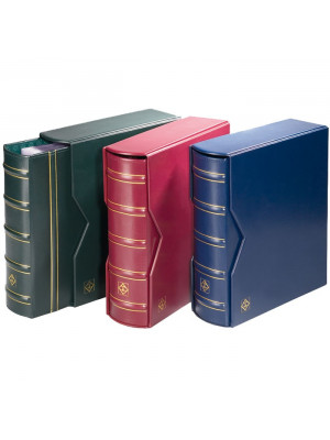 OPTIMA G Binder, incl. slipcase, with extra-large capacity, red, 301654