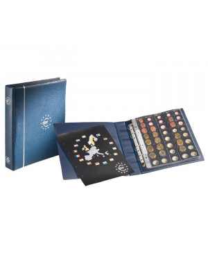OPTIMA Euro coin album, blue, 336883