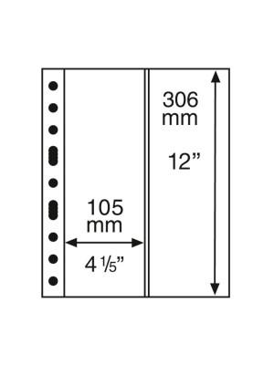 GRANDE sheet 2VC, clear, 324045