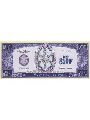 "Memorial Dollar Banknote ""All I Want For Christmas"""