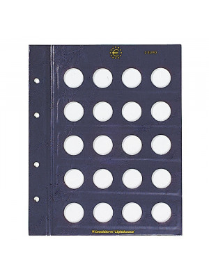 Coin sheet VISTA for 2-Euro coins, 312494