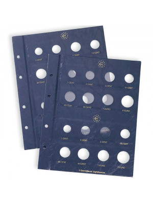 Coin sheet VISTA for Euro coin sets 315537