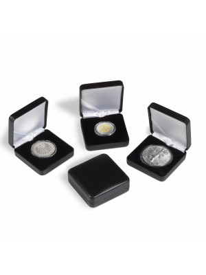 NOBILE Black single coin box up to Ø 38 mm, 314303