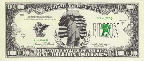 original new billion dollar badge the perfect gift