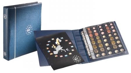 OPTIMA albums eiro monētām